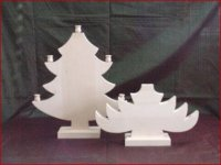 Christmas Tree Candle Holders