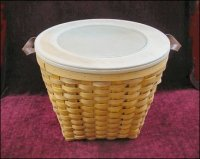 Square Bottomed Basket