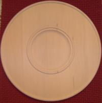 Wide Rim Plate