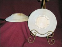 Tapered Candle Plate - 8 Inch