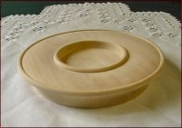 Candle Plate 7 Inch
