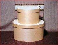Oval Colonial Bonnet Boxes