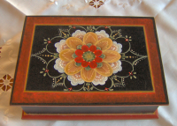 Aunt Cordelia's Keepsake Box Pattern Packet