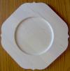 Flat Rimed Square Plate