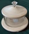 Potpourri Bowl w/Lid and Decorative Knob.