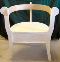 Adult Sized Norwegian Three Legged Chair