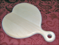 Heart Shaped Hand Mirror