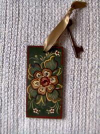Old Rogaland Key Tag-Ribbon