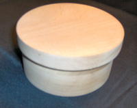 Turned Bentwod Style Box