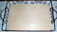 Metal Tray with Insert