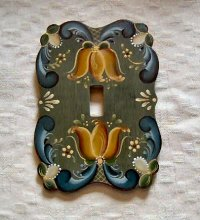 Rogaland Wooden Switch Plate Cover
