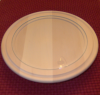 Plate with Glass Insert