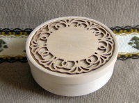 Scroll and Lace Bowl