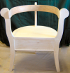 Adult Sized Norwegian Three Legged Chair